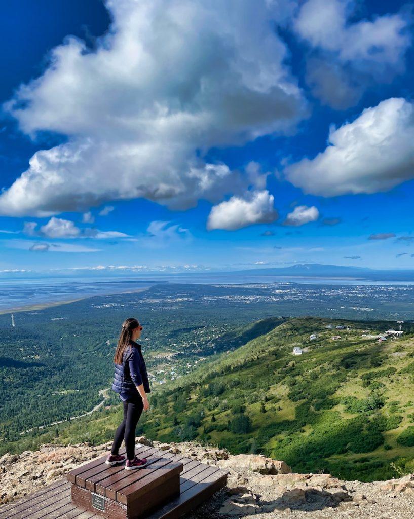 John Hall's Alaska Review - Day 8 - Hiking Flattop