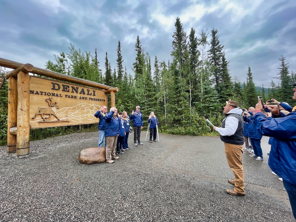 John Hall's Alaska Review - Group Photo