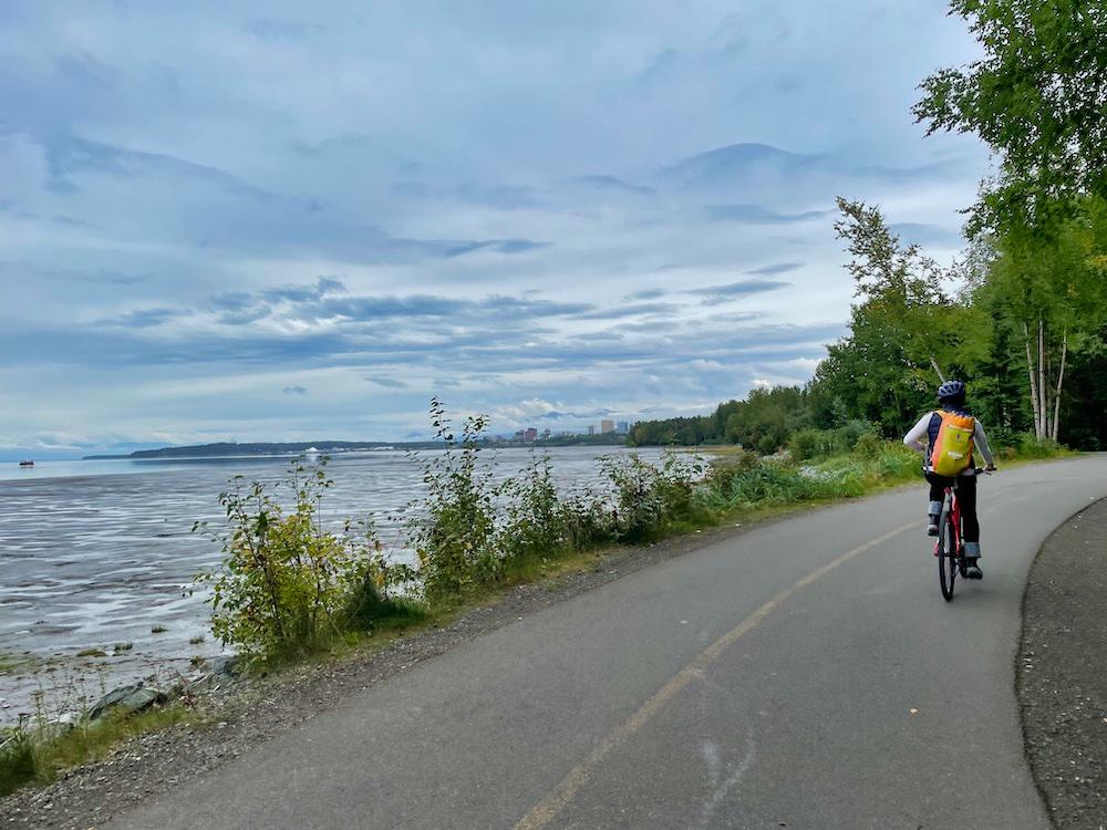 Second Trip to Alaska - Biking in Anchorage
