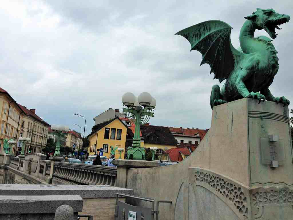 Dragon's Bridge, Ljubljana