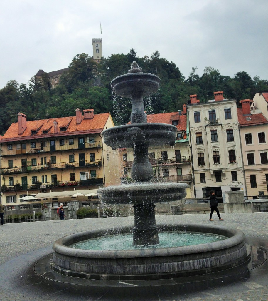 One of the squares of Ljubljana