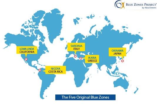 The Blue Zones - Ma liste de ressources sur le végétalisme