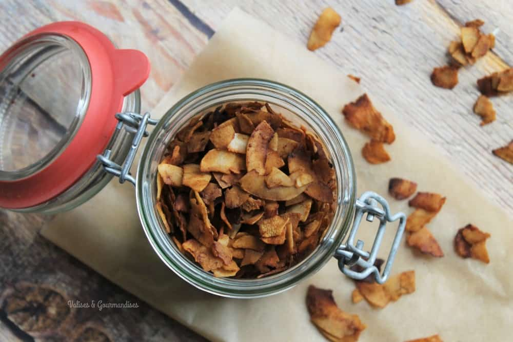 Vegan coconut bacon - Valises & Gourmandises