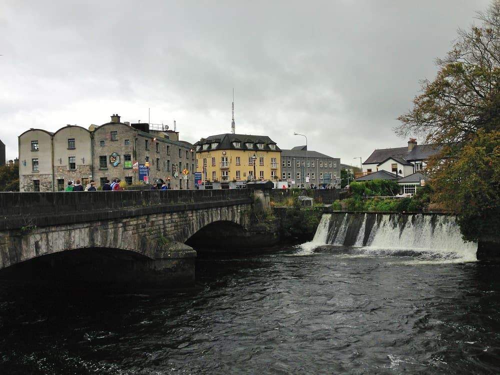 Walk around Galway, Ireland