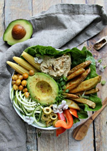 Summer Buddha Bowl, 2 ways - Valises & Gourmandises