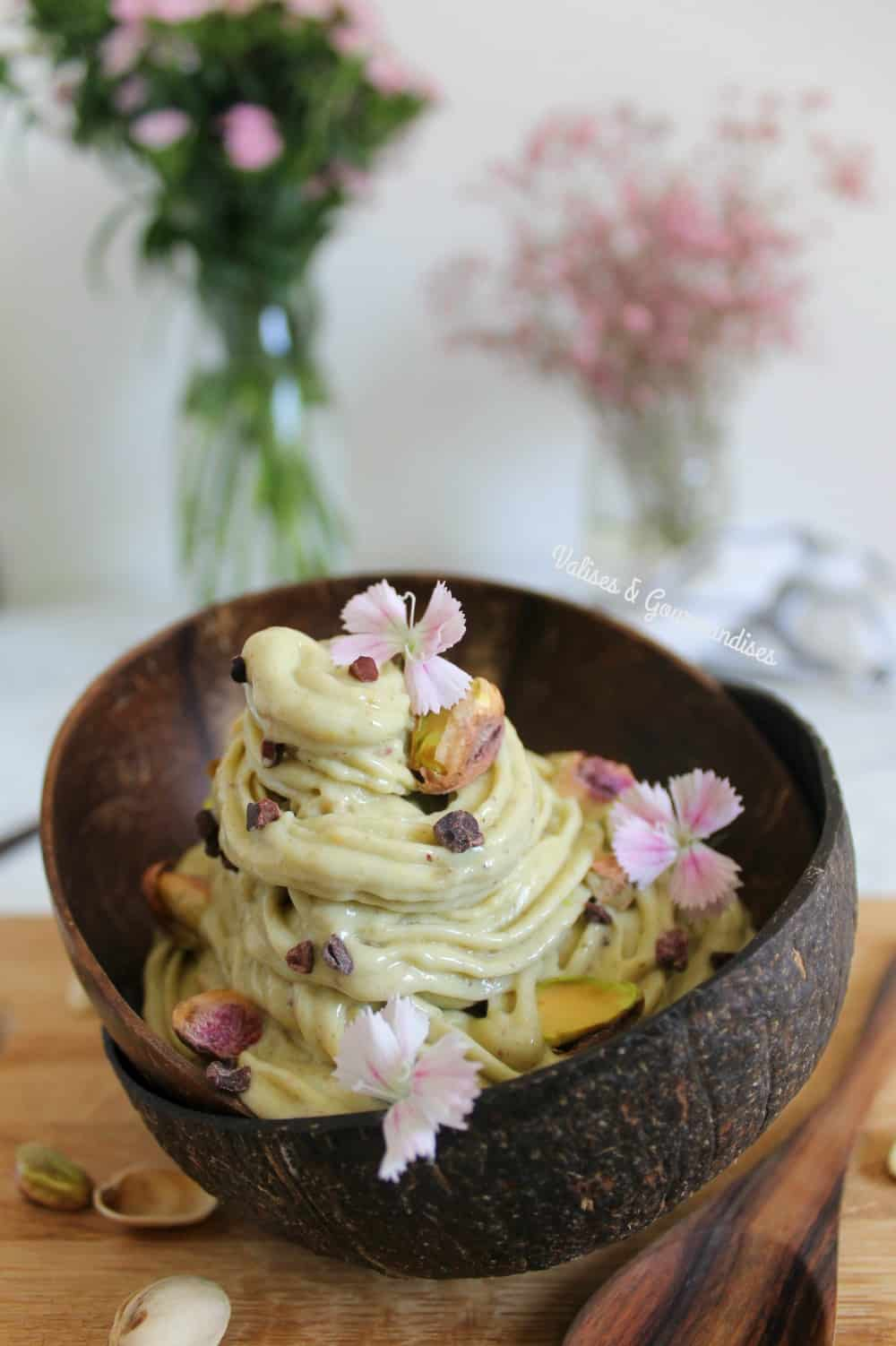 Vegan pistachio ice cream & a free eBook!