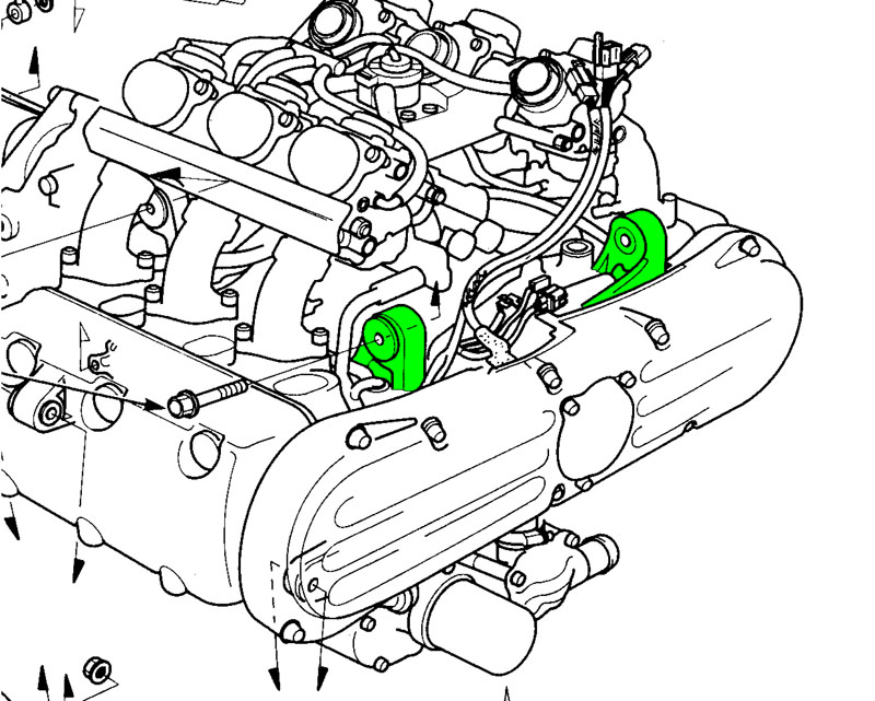 Vw Engine Motor Mount Diagram, Vw, Free Engine Image For