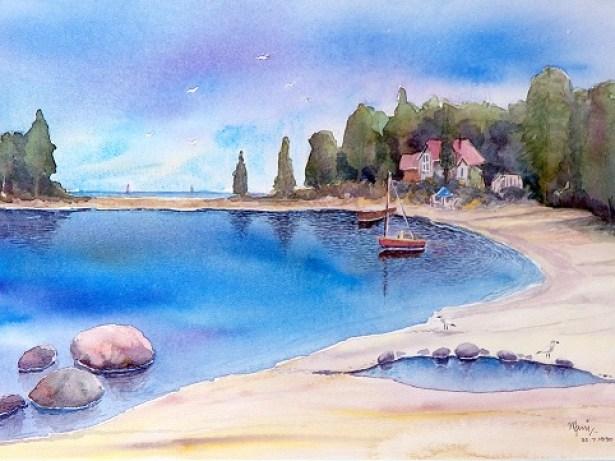 Georgian Bay - watercolor
