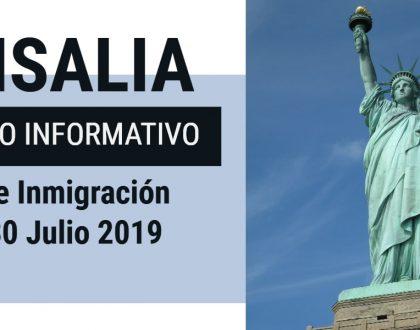 Foro Informativo de Inmigración en Visalia 30 Julio 2019 CVIIC