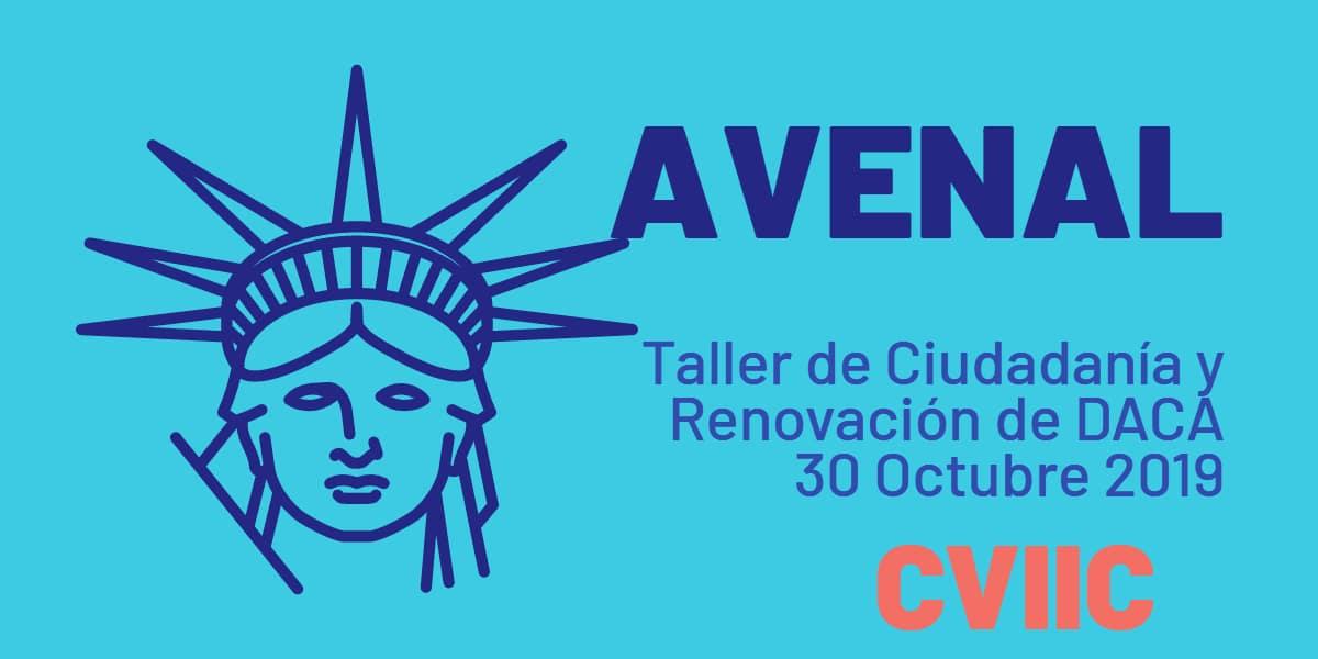Taller de Ciudadanía y Renovación de DACA en Avenal 30 Octubre 2019