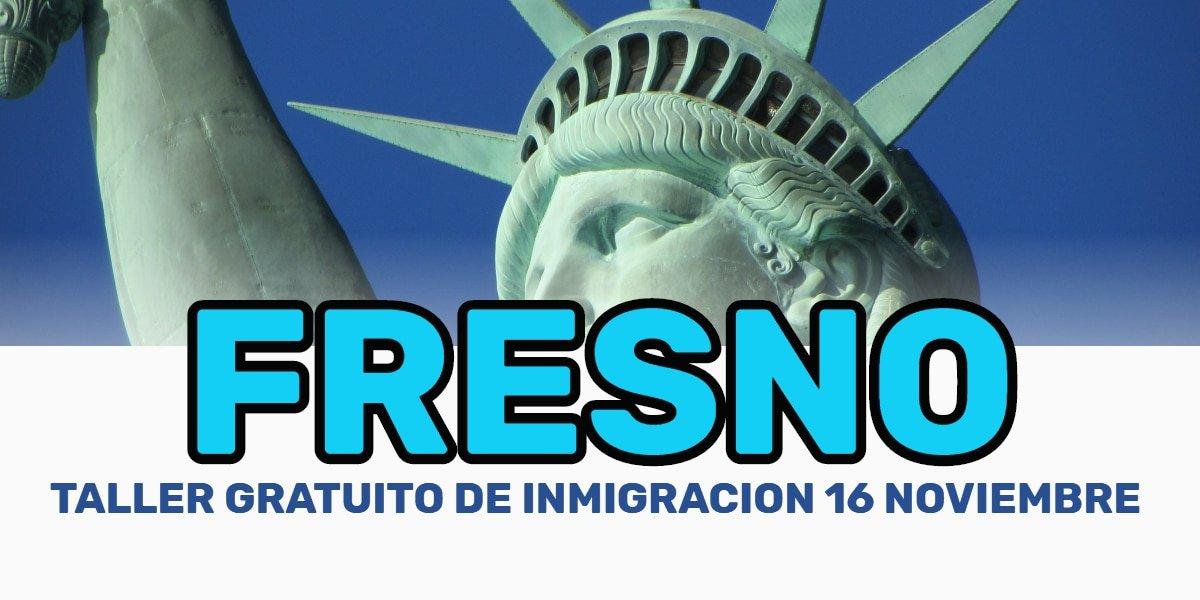 Taller de Ciudadanía y Renovación de DACA en Fresno 16 Noviembre 2019 CVIIC