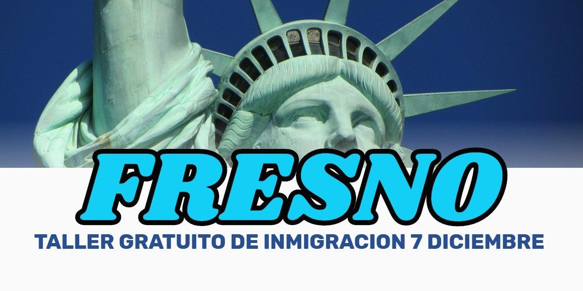 Taller de Ciudadanía y Renovación de DACA en Fresno 7 Diciembre 2019 CVIIC