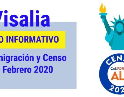 Foro Informativo de Inmigración y Censo en Visalia 11 Febrero 2020 CVIIC