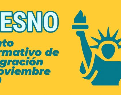 Evento Informativo de Inmigración en Fresno 16 Noviembre 2020 CVIIC