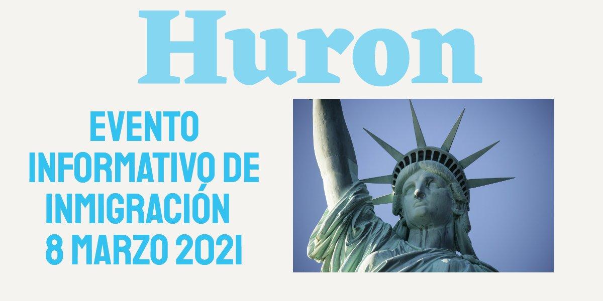 Evento Informativo de Inmigración en Huron 8 Marzo 2021 CVIIC