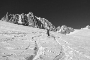 Freeride in Courmayeur