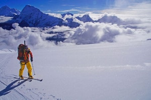 Ski mountaineering in Gran Paradiso national park