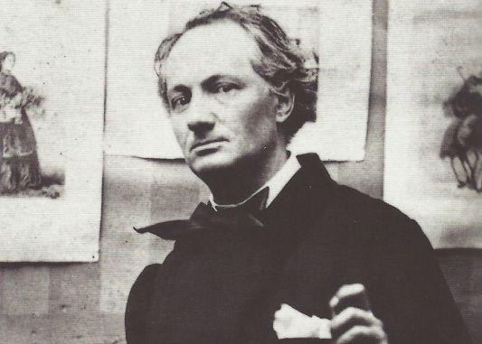 El poeta Charles Baudelaire.