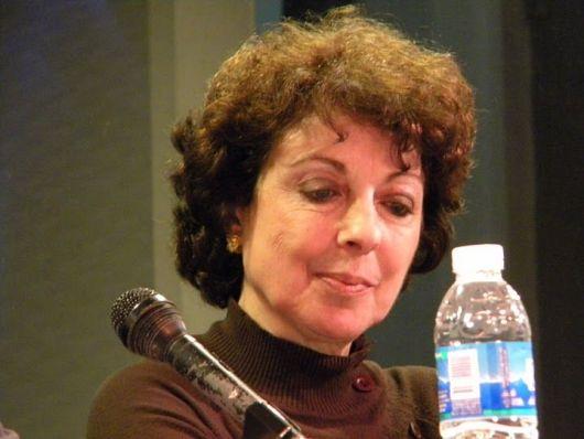 La poeta Paulina Vinderman