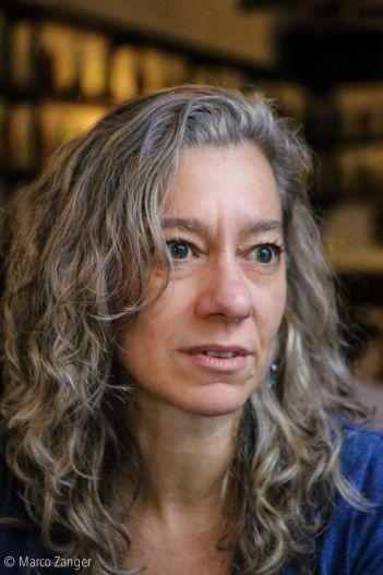 La poeta María Malusardi. Crédito Marco Zanger