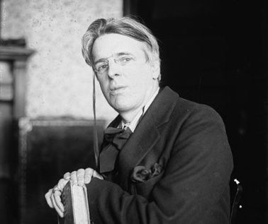 El poeta W. B. Yeats