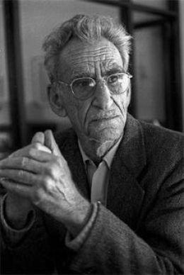 El poeta George Oppen