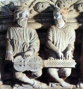 ORGANISTRUM Pórtico de la Gloria, Catedral de Santiago de Compostela