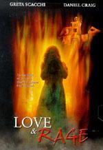 Amor y cartel de la película Rage