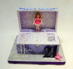 B257 Jewellery Box Ballerina