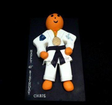 B263 Karate Man