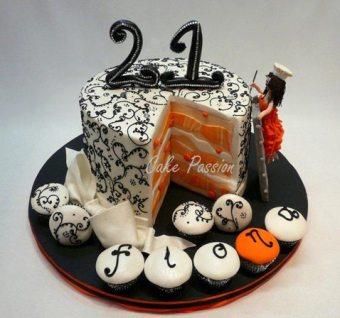 B272 21st Cake