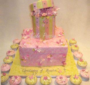 CH26 Celebration Christening Cake