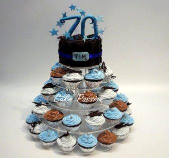 SC34 70th Cupcakes