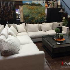 Corner Sectional Sofa Reviews Thomasville Benjamin Leather Haze | Living Room Sectionals Stylus Sofas ...