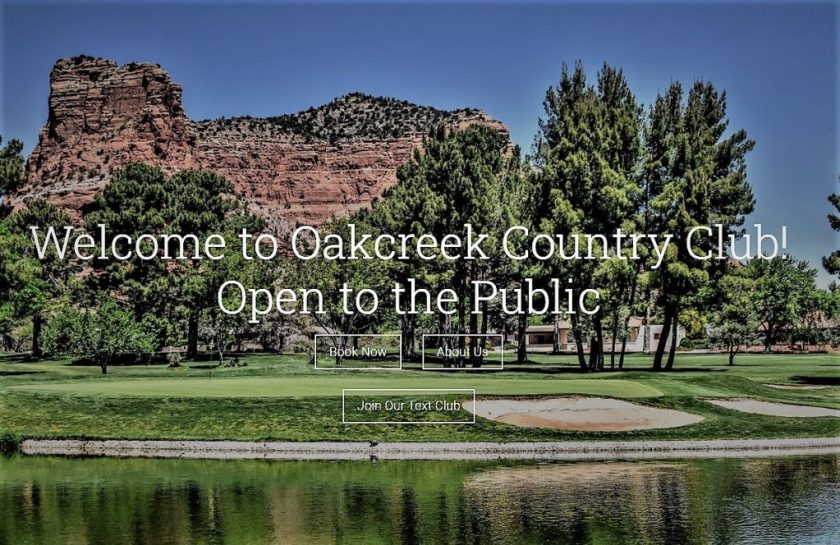"""Oakcreek Country Club, designed by the famous father and son team of Robert Trent Jones Sr. and Robert Trent Jones Jr., can truly be described as a work of art. Par 72, the 18-hole championship golf course is nestled among the red rocks of Sedona, Arizona with views beyond compare, and the golf course design a masterpiece.  The golf course is a traditional layout similar to those that you may find in the midwestern United States. In the usual Trent Jones manner, the fairways are classic tree-lined doglegs with fairway bunkers strategically placed in the landing areas, and the greens are all slightly elevated and surrounded by large swirling greenside bunkers. The course is """"player-friendly"""", allowing plenty of room for error but always with an opportunity to recover and get errant shots back into play. The golf course consists of 145 acres, including three lakes. Water comes into play on the front nine on holes #4, #6, and #7.  On the back nine, the water comes into play twice on holes #10 and #18. """"Every hole must be a hard par and an easy bogey"""" — Robert Trent Jones Sr."""