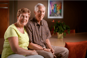 Senior Couple Experiencing Freedom Because of in home care - East Idaho and Wyoming Senior Care