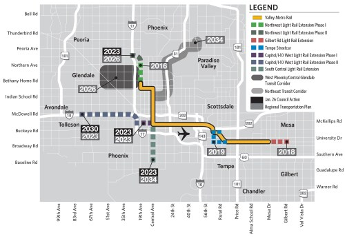 small resolution of phoenix rail rally brings transit to the desert