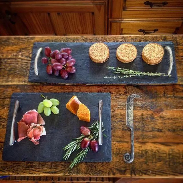 Welsh Slate Food Serving Trays Cheese Boards