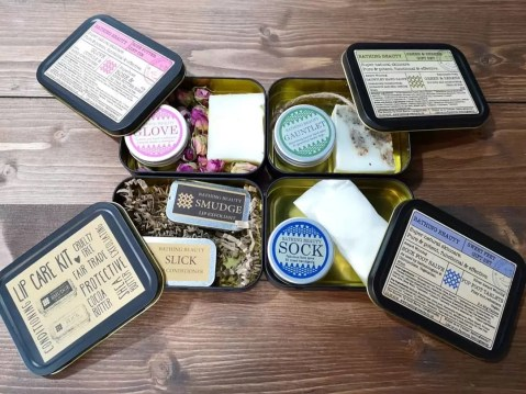 Bathing Beauty Skincare gift tins