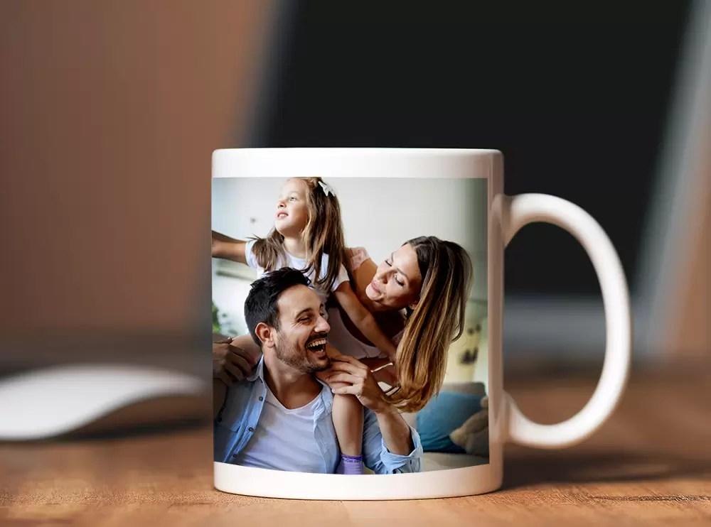 Personalised photo mug gift