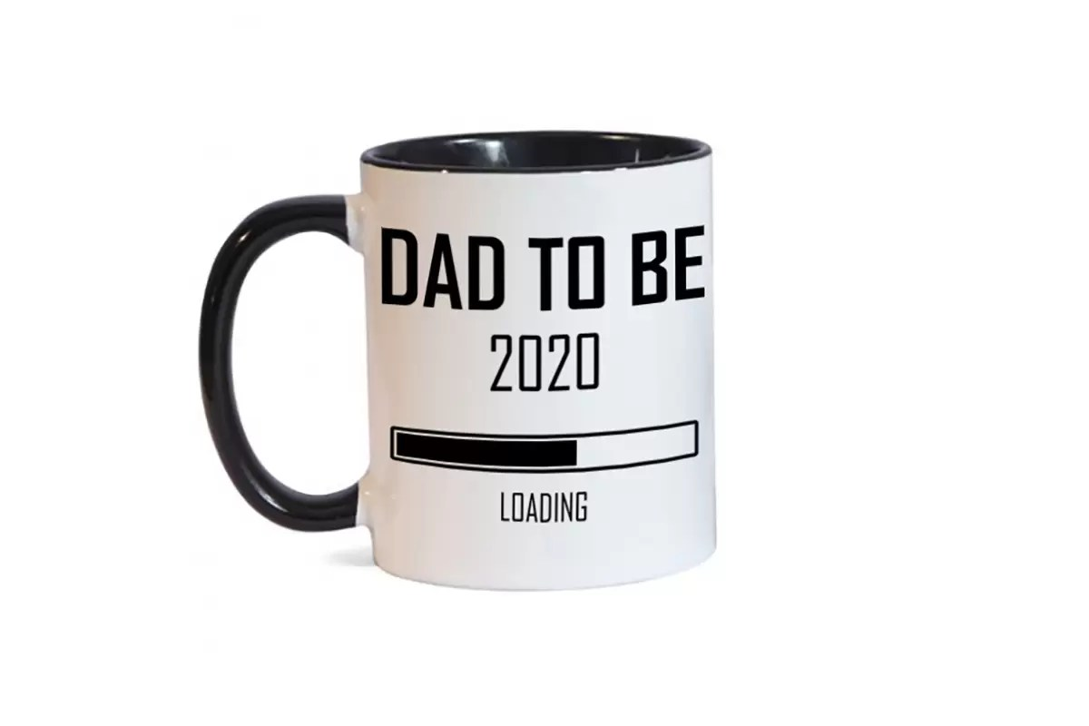 Dad to be 2020 Father's day mug