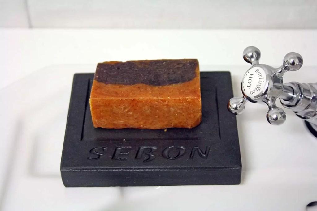 Handmade Natural Orange & Cinnamon Soap for Cleansing