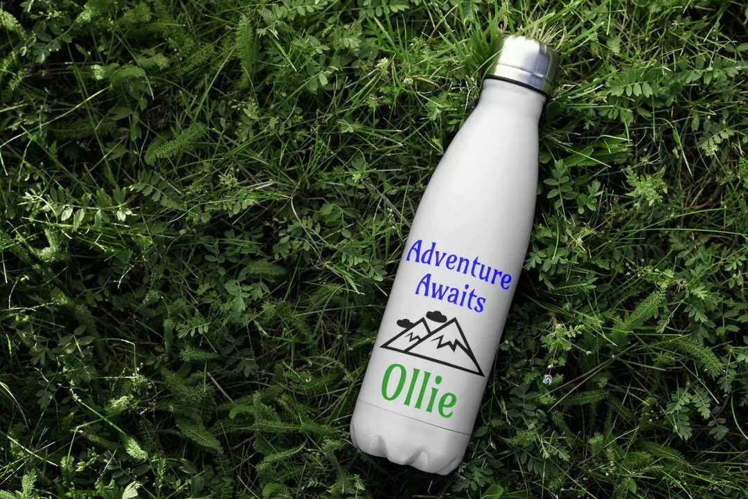Stay hydrated with our new environmentally-friendly water bottles