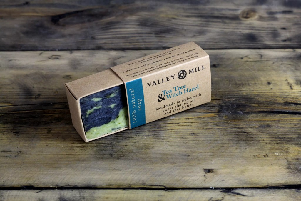 Valley Mill handmade 100% natural soaps which are also cruelty free