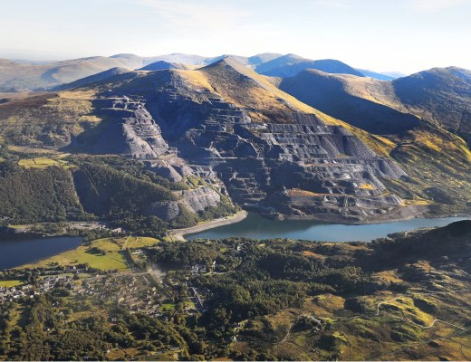 Beautiful North Wales Slate Landscape which is a World Heritage Site