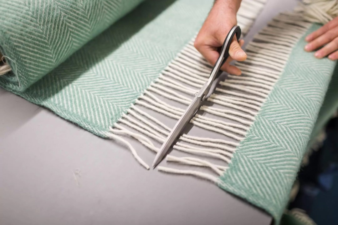 Crafting a Valley Mill blanket