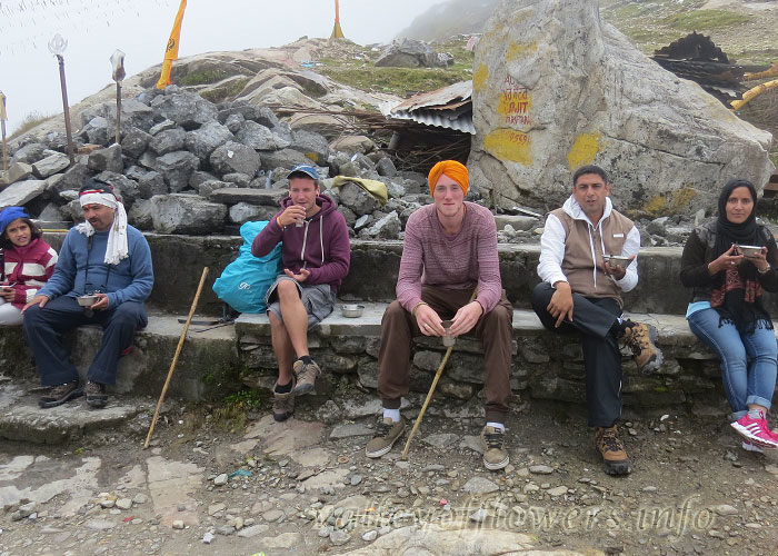 Our Group at Hemkund Sahib