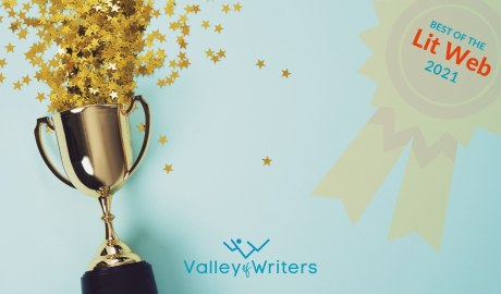 Valley of Writers Best of the Lit Web 2021 Banner