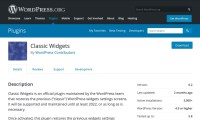 I updated my author site to the latest version of WordPress, now my widgets admin page is blank. Fix?
