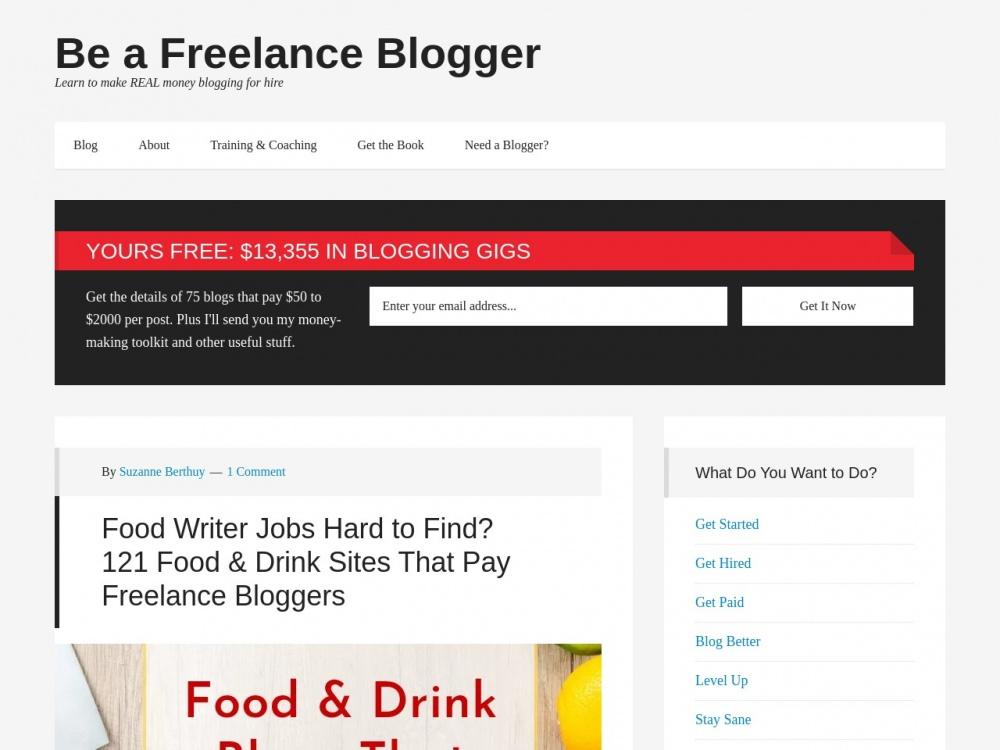 http://beafreelanceblogger.com/